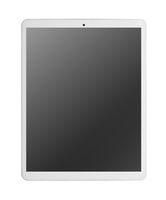 Modern white tablet pc