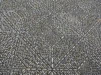 stone mosaic pavement, beautiful cobble stone sidewalk