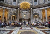 Pantheon, basilica, Rome, Italy, Europe