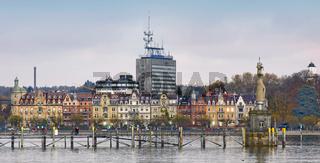 Konstanz, Blick in Richtung Seestraße