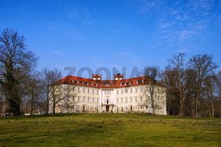 Luebbenau Schloss - Luebbenau castle in Brandenburg