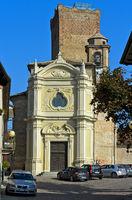 Kirche San Giovanni Battista und mittelalterlicher Wachturm