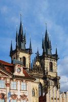 Historische Gebäude in Prag, Tschechien