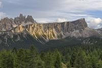Croda da Lago  Lastoni di Formin, Italy