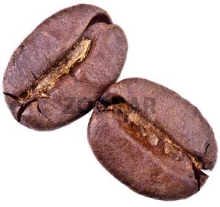 Kaffeebohnen - freigestellt