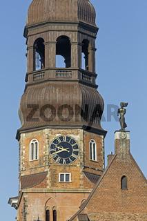 St.-Katharinen-Kirche, Speicherstadt, Hamburg, Deutschland, Europa