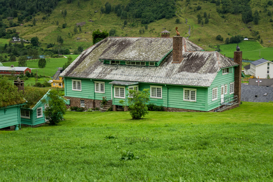 Green house in Norway