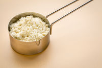 scoop of whey protein powder
