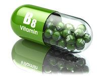 Vitamin B8 capsule. Dietary supplements.