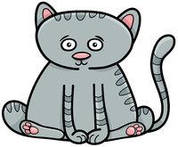 cat or kitten animal character