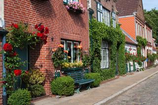 Friedrichstadt, Venedig des Nordens,  Holländerstädtchen, südliches Nordfriesland, Schleswig-Holstein, Deutschland, Europa