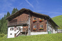 Old farm house in Tyrol