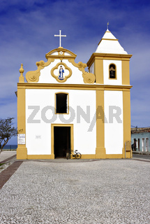 Kirche Nossa Senhora d´Ajuda, Arraial  d´Ajuda, Bahia, Brasilien, Südamerika