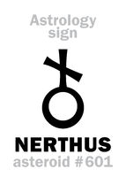Astrology: asteroid NERTHUS