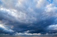 Dramatic north sky
