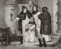 The torture of Girolamo Hieronymus Savonarola, 1452-1498, an Italian Dominican