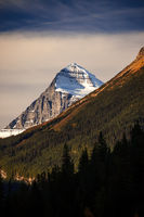 Mount Columbia, tallest peak in Alberta, Canada