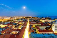 Night view of Zadar