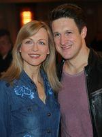 Singer Matthias Steiner with Inge Steiner