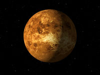 Planet Venus done with NASA textures