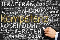 Kompetenz und Beratung an Tafel