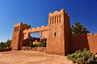 Ait Benhaddou, Kasbahs near the city of Warzazat, Morocco