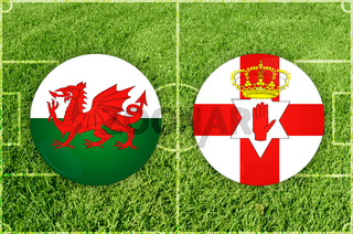 Wales vs Nothern Ireland