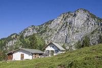 Front Scharnitzalm south of Benediktenwand