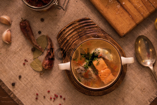 fish soup composition