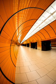 marienplatz subway in munich