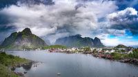 Storm cloud - Lofoten archipelago