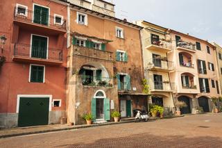 Port'Ercole Stadt an der Küste der Maremma, Toskana, Italien