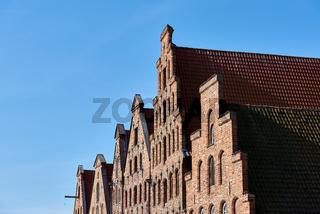 Salzspeicher am Holstentor, Lübeck, Deutschland