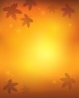 Autumn abstract background 1 - picture illustration.
