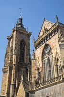 Colmar, Collegiate Church Saint-Martin, also Martinsmünster