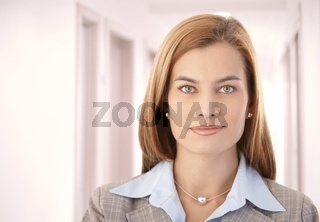 Portrait of beautiful businesswoman smiling