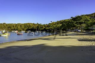 Tranquil beach at Buzios city