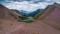 The Carthew-Alderson Hiking trail in  Waterton, Alberta
