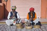 Schlangenbeschwörer in Nordindien, Indien, Asien - serpent charmers in North India, India, Asia