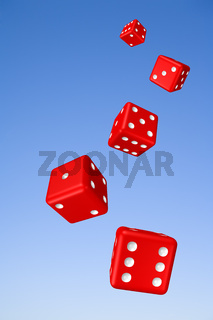 Tumbling Dice and Sky