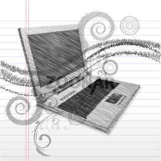 sketchy laptop