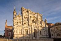 Pavia Carthusian monastery facade