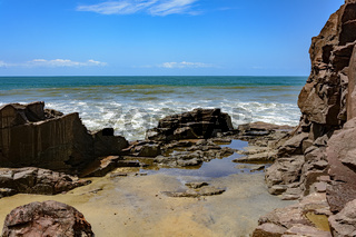 Rocks and the ocean