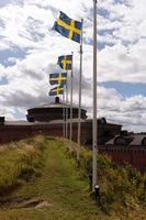 Karlsborg Fortress in Sweden