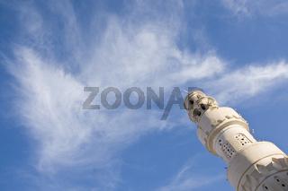 Moschee mit Minarett mosque with minaret