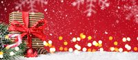 Christmas or New Year festive background