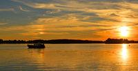 Evening in Mueritz National Park,Mecklenburg Lake District,Germany