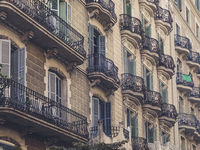 residential building facade - beautiful old house