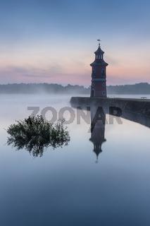 Leuchtturm von Moritzburg in Sachsen