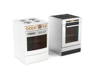 Two electric stoves